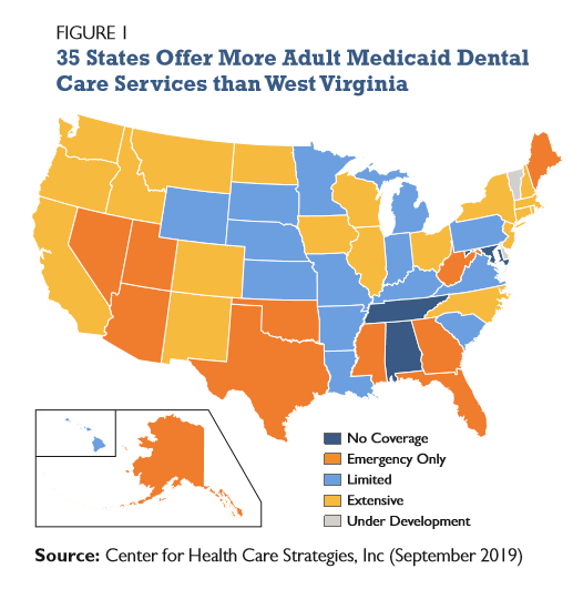 Adding Adult Dental Coverage to Medicaid Can Improve Health in West Virginia